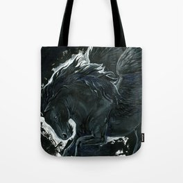 Dark Pegasus Tote Bag