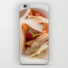 The Art of Food Pasta Close iPhone Skin