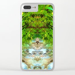 Heart Centered Clear iPhone Case