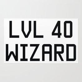 LVL 40 WIZARD Rug