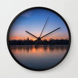 The Lakes, Copenhagen Wall Clock