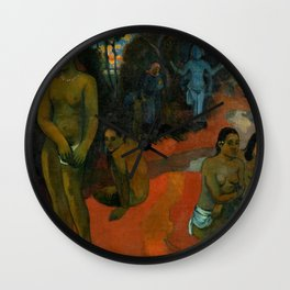 """Paul Gauguin """"Te Pape Nave Nave (Delectable Waters)"""" Wall Clock"""