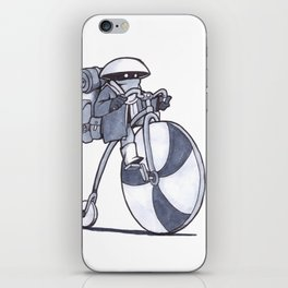 Courier Kid iPhone Skin