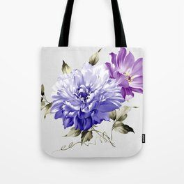 Flowers are full of romance,the leaves and flowers art design Tote Bag