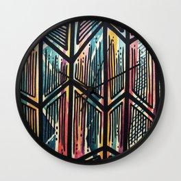 Jaded Jagged Wall Clock