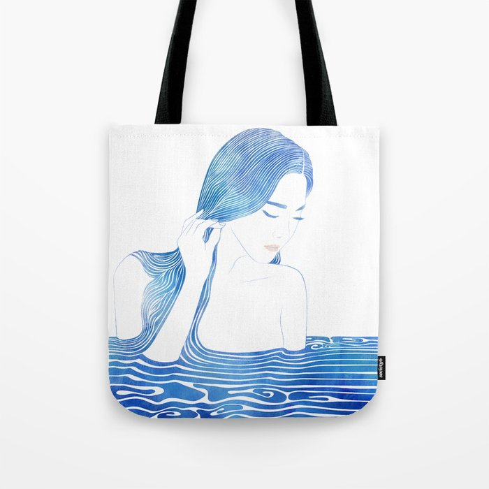 Water Nymph LXIX Tote Bag