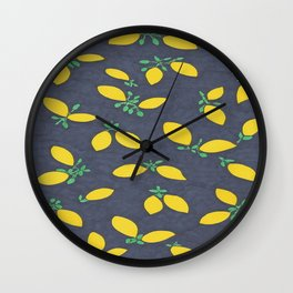 Lemon Drops Wall Clock