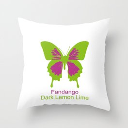 Ulysses Butterfly 15 Throw Pillow
