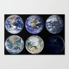 Favorite...Old, New, Aqua, Blue, White or Black Marble? Canvas Print