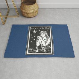 The Star Tarot Card Illustration Rug