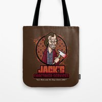 Jack's Caretaker Services Tote Bag