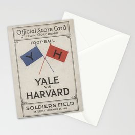 Harvard Yale Game 1925 Stationery Cards