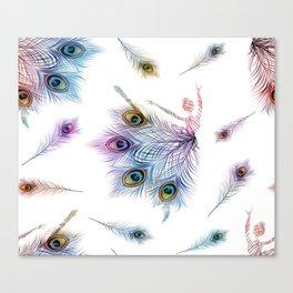 Peacock Dancer Canvas Print