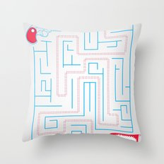 Bang! Throw Pillow