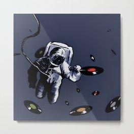Interstellar Record Hunt Metal Print