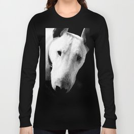 Confused English Bull Terrier Long Sleeve T-shirt