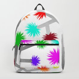 Joshua Tree Pom Poms by CREYES Backpack