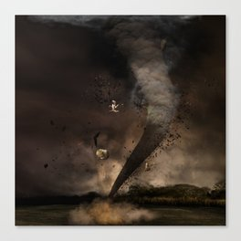 The twister Canvas Print