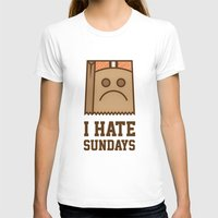 cleveland T-shirts featuring Cleveland Brown Bag by John Trivelli