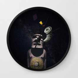 Listening to the Cosmos Wall Clock