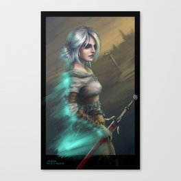 Lady of Worlds Canvas Print
