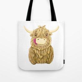 Wee Hamish Highland Cow Tote Bag