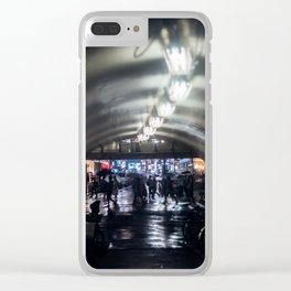 Urban Silhouette in Shibuya Clear iPhone Case