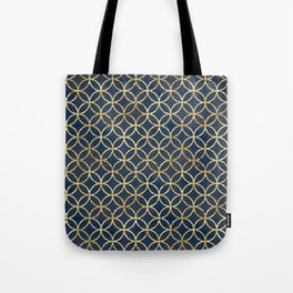 The Geometric Abstract Pattern Tote Bag