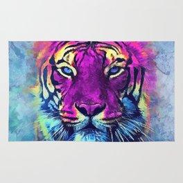 tiger purple spirit #tiger Rug