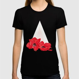 Floral Triangle T-shirt