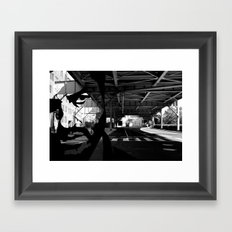 Loner  Framed Art Print