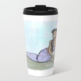 Calm Mermaid Metal Travel Mug