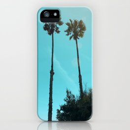 PALM COAST iPhone Case