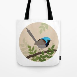 Variegated Fairy-wren Tote Bag