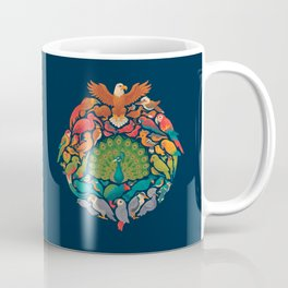 Aerial Rainbow Coffee Mug