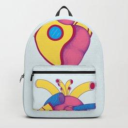 Yellow Submarine Heart Backpack
