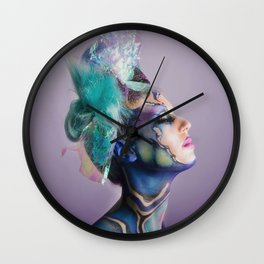 Amethyst Wall Clock