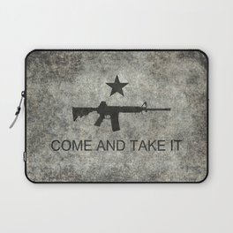 Come and Take it Flag with AR-15 Laptop Sleeve