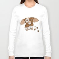 gizmo Long Sleeve T-shirts featuring Gizmo by Melissa Sanchez Art