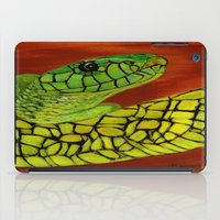 snake iPad Cases featuring Snake by maggs326