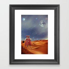 Idealism above all! Framed Art Print