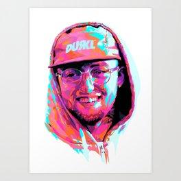 MAC MILLER---Artwork Art Print