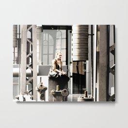 social engineering pt 3 Metal Print