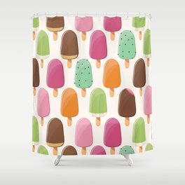 Ice cream 012 Shower Curtain