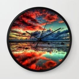 Nature 4 Wall Clock