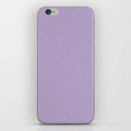 Dense Melange - White and Dark Lavender Violet iPhone Skin