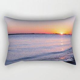 Ocean view at Dunedin Causeway in Dunedin Florida Rectangular Pillow