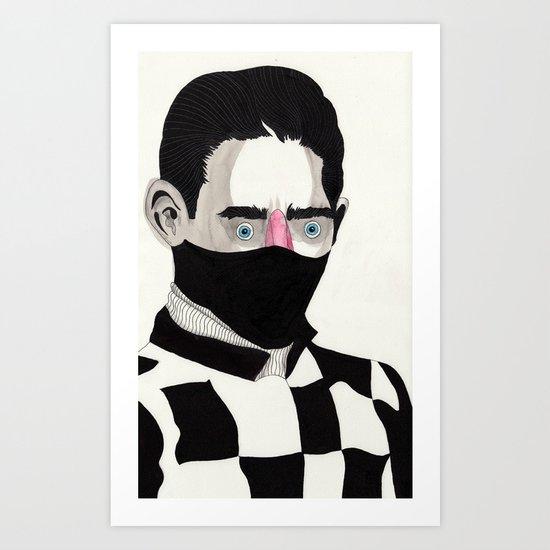 Jockey Art Print