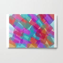 Shining Paper Metal Print