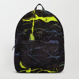 Beyond Gold and Blue Marble Backpack